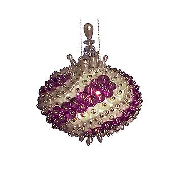 Pinflair Sequin & Pin Little Gem Bauble Ornaments - Makes 2