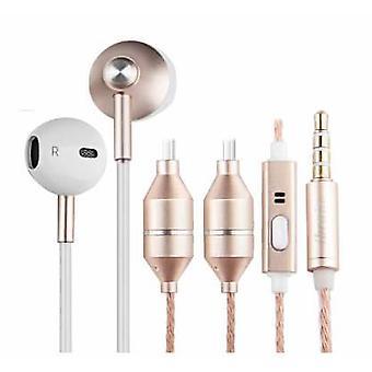 RADICOVER Strahlenschutz Kopfhörer Verdrahtet In-Ear MIC
