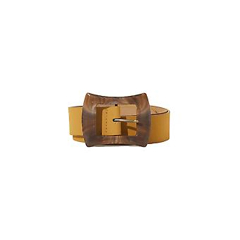 Shuuk Premium Quality Leather Fashionable Belt with Marbleized Buckle Pattern