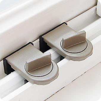 Sloten vergrendelingen schuifdeuren / ramen anti diefstal slot duwen en trekken voor bescherming van de veiligheid