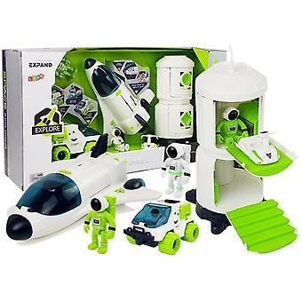 Rumlegesæt til børn – White Green