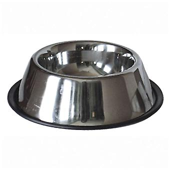 Ica Stainless Steel Feeder with Anti-Slip Base (Dogs , Bowls, Feeders & Water Dispensers)