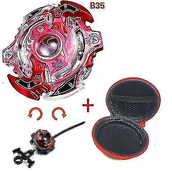 Spinning tops 5 beyblade burst sparking turbo b48 launcher  metal top gyro blade blade spinning fight toys b35