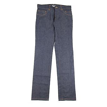 Dolce & Gabbana Dolce & Gabbana 14 Gold Stitch Straight Leg Jeans Dark Grey