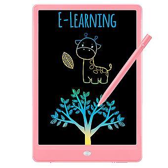 Lcd Writing Tablet Doodle Board, 10inch värikäs piirustus tabletti kirjoitusalusta, tytöt lahjat lelut 3 4 5 6 7 vuotta vanhat tytöt pojat (vaaleanpunainen)