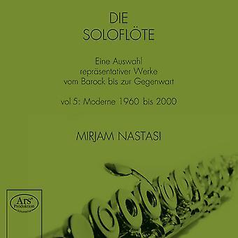 Denissow / Nastasi, Mirjam - Solo Flute [SACD] USA import