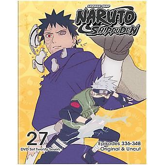 Naruto Shippuden Uncut Set 27 [DVD] USA import