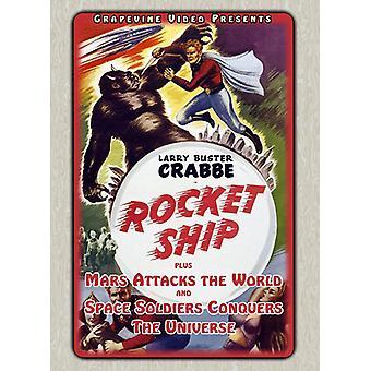 Flash Gordon Triple Feature [DVD] USA import