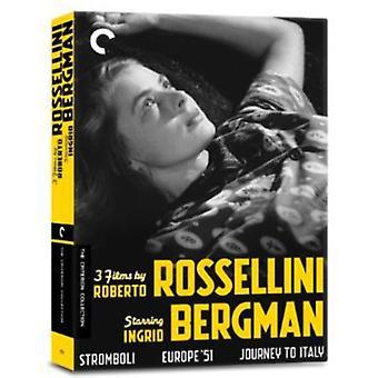 3 Films by Roberto Rossellin [DVD] USA import