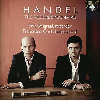 G.F. Handel - Handel: The Recorder Sonatas [CD] USA import