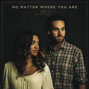 Us the Duo - No Matter Where You Are [CD] USA import