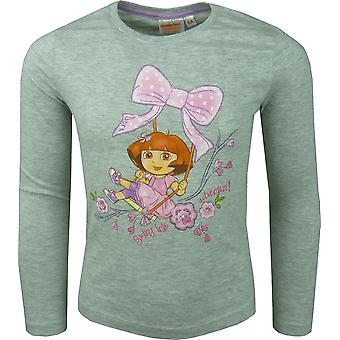 Girls Dora The Explorer Long Sleeve Top