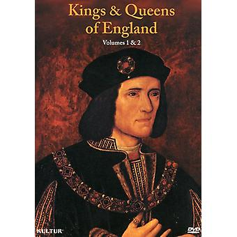 Kings & Queens of England Box Set [DVD] USA import