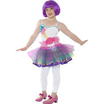 Candygirl Kleid Kostüm Mädchen Bonbonkleid