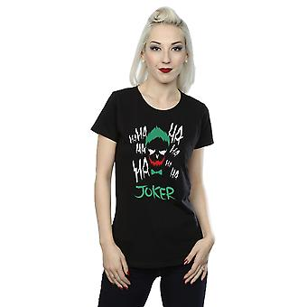 Suicide Squad Women's Joker Icon T-Shirt