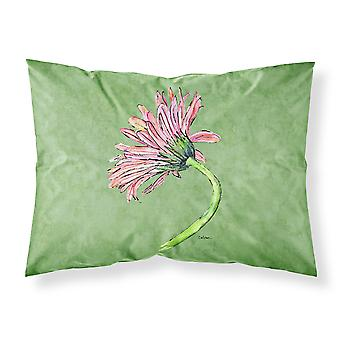 Gerber Daisy rosa Feuchtigkeit Feuchtigkeitstransport Stoff standard Kissenbezug