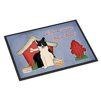 الكلب البيت جمع روسو-الأوروبي لايكا سبيتز الأماكن المغلقة أو في الهواء الطلق حصيرة 24 × 36