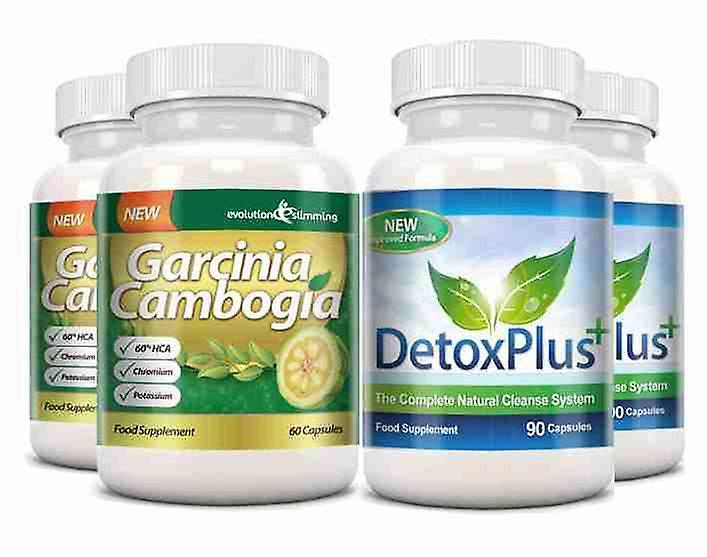 Garcinia Cambogia Cleanse Combo 1000mg 60 Hca With Potassium And