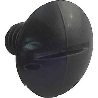 Jandy Zodiac C56 Kunststoffrad Schraube - schwarz