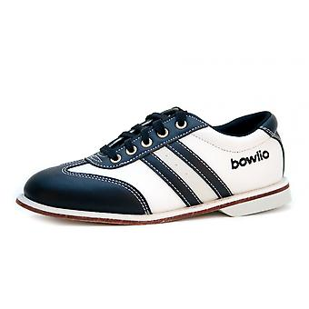 Bowling shoes - Bowlio Torino - leather with leather sole