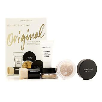 Get Started Mineral Foundation Kit - # 13 Golden Beige - 4pcs