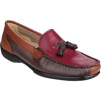 كوتسوولد الانزلاق بيدليستوني المرأة/السيدات على أحذية موكككاسين الكسول