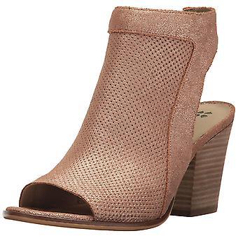 Naturalizer Womens Yanni läder öppen tå Casual Slingback sandaler