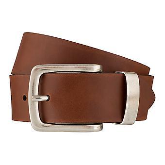BERND GÖTZ belts men's belts leather belt Cognac 6382