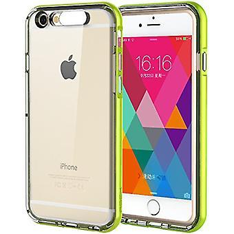 Original ROCK Light Tube Bumper Case for Apple iPhone Green 6 Plus 5.5