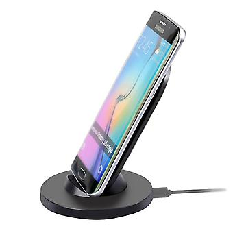 Itian wireless charger charger inductive charger docking station black new