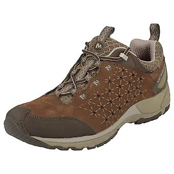 Ladies Merrell Air Cushion Trainers 'Avian Light Leather J16708'