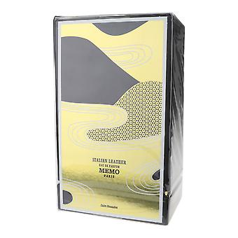 Mémo en cuir italien Eau De Parfum 2,53 oz/100 ml neuf dans la boîte