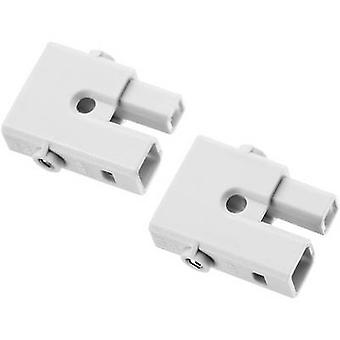 Adels-Kontakt 145102 AC 162 STS 2 LED GREY Stecker