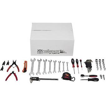 Whadda 10-piece tool set for 3D printer assembly Suitable for (3D printer): Velleman Vertex