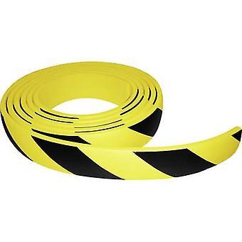 VISO PUC500NJ Protective foam black, yellow (L x W) 5 m x 60 mm