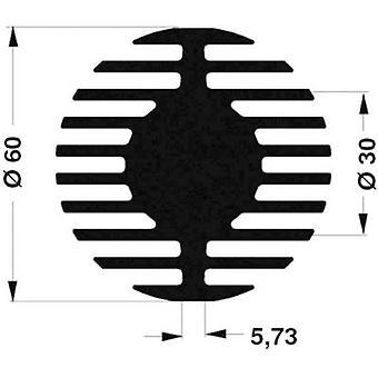 Fischer elektronik SK 578 50 SA LED køle vask 1,45 K/W (Ø x H) 60 mm x 50 mm