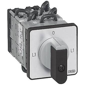 BACO NY17AQ1 Ammeter changeover switch 16 A 360 ° Grey, Black 1 pc(s)