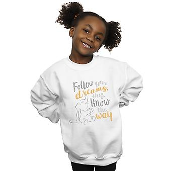 Disney Girls Dumbo Follow Your Dream Sweatshirt