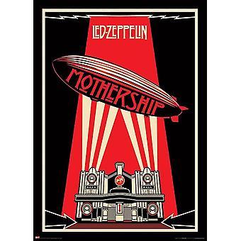 Giant Led Zeppelin Mothership 40 x 55 Poster Print