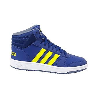Adidas Hoops Mid 20 K B75745 universal all year kids shoes