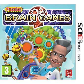 Puzzler Brain Games (Nintendo 3DS) - New