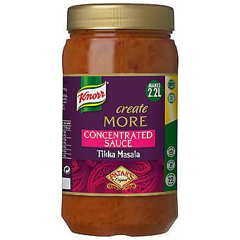 Knorr Patak's Tikka Masala Create More Concentrated Sauce
