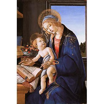 Madonna og barn eller Madonna af, Sandro Botticelli