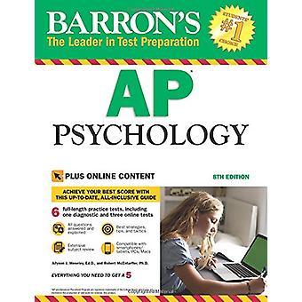 AP Psychology - with Bonus Online Tests by Robert McEntarffer - 978143