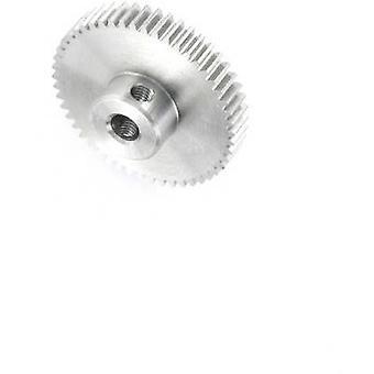 Reely Steel Spur gear Module Type: 0.5 Bore diameter: 4 mm No. of teeth: 50