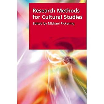 Research Methods for Cultural Studies (Research Methods for the Arts and Humanities)