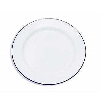 エナメルの丸皿
