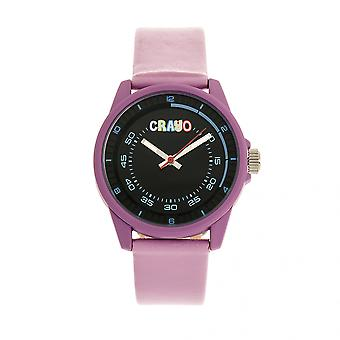 Crayo Jolt Unisex Watch - Light Pink