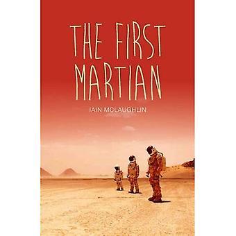 Den första Martian (tonåring läser V)
