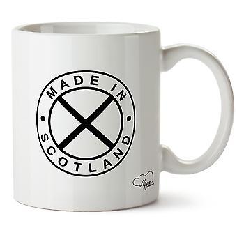 Hippowarehouse Made In Scotland Printed Mug Cup Ceramic 10oz